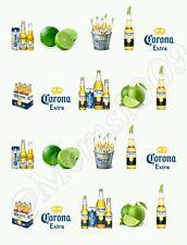 Corona Extra nail art water decals Free shipping Beer Nail art