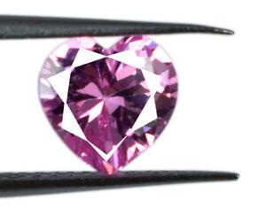 Valentine's Gift Pink 2.20 Ct Heart Shape Sapphire Gemstone Natural Certified