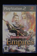 PS2 : DYNASTY WARRIORS 5 EMPIRES - Nuovo, risigillato! Costruisci il tuo impero!
