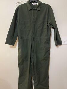 Walls Master Made Coveralls green XL Short vintage long sleeve