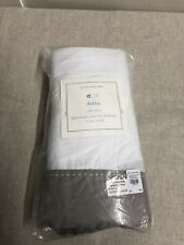 NEW IN PACKAGE Pottery Barn Baby - Dahlia Crib Skirt - Kids Nursery Bedding