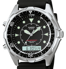 Casio Men's Vintage AMW320R-1EV Marine Analog-Digital Dive Watch