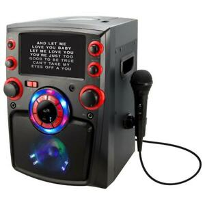 iLive Bluetooth Karaoke Machine with 7 in. TFT Monitor and LED Light Show
