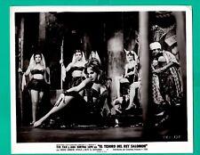 Original INGRID GARBO Sexy Dance EL TESORO DEL REY SALOMON Movie Photo 1963 8x10