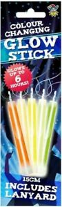 Colour Changing Glow Stick Lanyard Boys Girls Party Bag Filler Toy Decoration