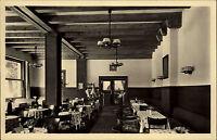 Bad Reichenhall Ansichtskarte ~1950/60 Inneres Café Konditorei Dreher am Kurpark