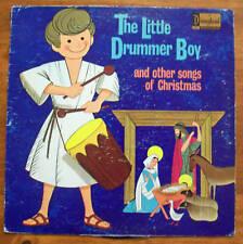 Vintage Collectable Little Drummer Boy Disney Disneyland Vinyl LP Music Record