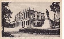 #VICENZA: PIAZZA VITTORIO EMANUELE - MUSEO CIVICO E MON. A FEDELE LAMPERTICO