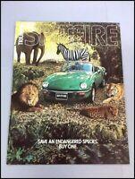 1977 Triumph Spitfire Factory Original Car Sales Brochure Catalog - Race Racing