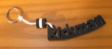 Rickman Word Letter Foam Black/White Key Ring Clearance