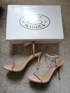Steve Madden Barely There Heels Size 5