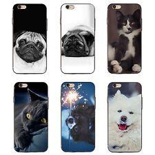 3d Animales Perro Gato Estuche Funda para iPhone 6 7 Más Samsung Galaxy S6