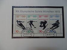 Briefmarken Album  aus der BRD aus der Zeit von 1970-80