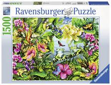 RAVENSBURGER PUZZLE*1500 TEILE*FIND THE FROGS / FRÖSCHE*RARITÄT*NEU+OVP