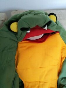 Snake Halloween Fancy Dress Costume S-XXL Adult