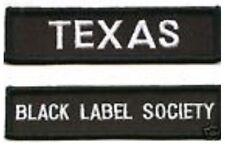 HEAVY METAL BLACK LABEL SOCIETY FAN CLUB: TEXAS MEMBER FAN CLUB BLS PATCH SET