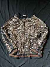 Zara Sequin Bomber Jacket Age 8