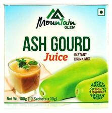 Mountain Glen ceniza Calabaza zumo de melón de Invierno de mezcla de bebida instantánea Natural Veg 100gm