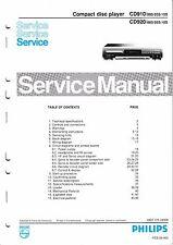 Service Manual-Anleitung für Philips CD 910,CD 920