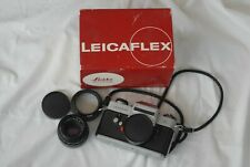 Leica Leicaflex SLCamera with Summicron 50mm f/2.0 R Lens Boxed in Exc+ Cond
