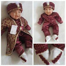 NEU! Babyset Mevlüt takimi Sehzade Taufanzug Bebek Sünnet Kina Rot Jungen 62 68