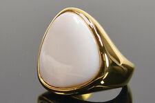 Torrente - Damen Ring Opal Stahl vergoldet 18 Ct Gelbgold Gr. 54 Neu; K1 383