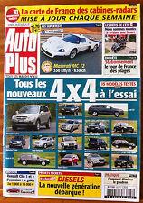 AUTO PLUS du 18/07/2006; nouveaux 4x4 à l'essai/ Dossier Clio 1 et 2/ Maserati M