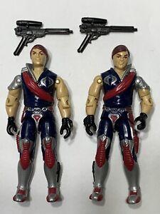 G.I. Joe Cobra Crimson Commander Twins Xamot and Tomax