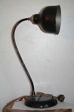ancienne lampe de bureau 1950 60 noir rotule vintage lamp design style guariche