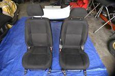 Toyota Altezza Gita OEM JDM Left Right Front Seats Black Cloth SXE10 Sportcross