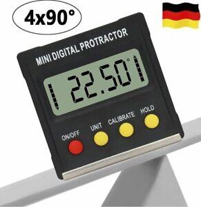 LCD Magnet Digital Winkelmesser Winkelmessgerät Neigungsmesser Inklinometer NEU