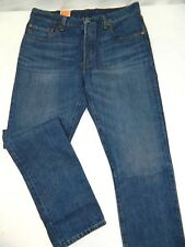 Fit 31x33 New Levi's 501 Button Fly Stonewashed Denim Blue Jeans Tag Wrong
