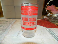 Ohio State 50th Anniversay 1922-1972 Glass