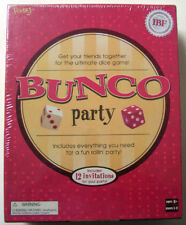 BUNCO PARTY FUNDEX 2004 EDITION FUN DICE GAME 12 INVITATIONS NEW FACTORY SEALED