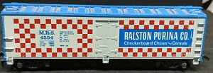 Tyco Ralston Purina Co. MRS 4554. HO Scale. Billboard REEFER BOX Car. VINTAGE