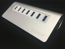 ORICO M3H7 Aluminum 7 Port USB 3.0 Hub with 3.3 ft. USB Cord