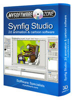 Synfig 2D Animation Animator Cartoon Maker Computer Software Program