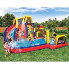 Inflatable Water Sports Park Slide Splash Pool Games Backyard Swim Swimming New