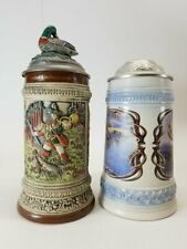 New ListingGerz Germany Beer Steins Lot Of 2