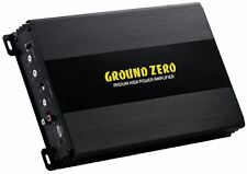 Ground Zero GZIA 1.1000DX-II 1000W RMS Monoblock Subwoofer Endstufe NEU