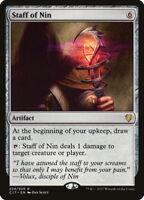MTG Magic - (R) Commander 2017 - Staff of Nin - NM/M