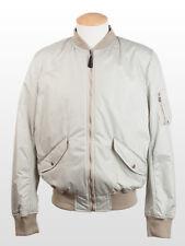 New  Dolce&Gabbana Light Grey Jacket Retail $950 Size 52