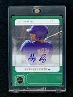 2011 Just Drafted Anthony Rizzo Rookie Auto 1/5