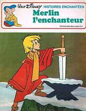 Merlin L'enchanteur Walt Disney  deux coqs d'or