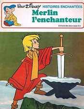 Merlin L'enchanteur Walt Disney  deux coqs d'or