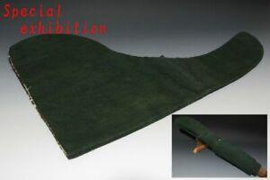 Japan Antique Edo halberd cover yoroi kabuto samurai katana sword tsuba Busho