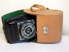 Midcentury Bakelite Camera Druopta Pionyr late Photax copy 6x6 film /6x 4,5+case