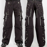 "(2 Pair) NWT Tripp NYC Black STEP CHAIN PANTS | Size XXL | Waist 38""- 41"""