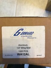 Aluminum 1/2 Inch Wing Seal - 1000 pcs - Wa12Al - Gerrard Strapbinder Products
