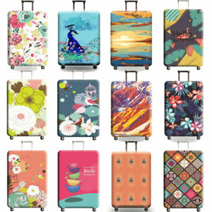 Anti Scratch Luggage Cover Travel Trolley Case Suitcase Dust Cover S/M/L/XL New